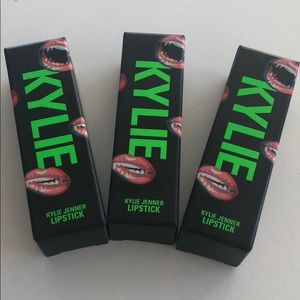 NWT Kylie Halloween Lipstick Set of Three